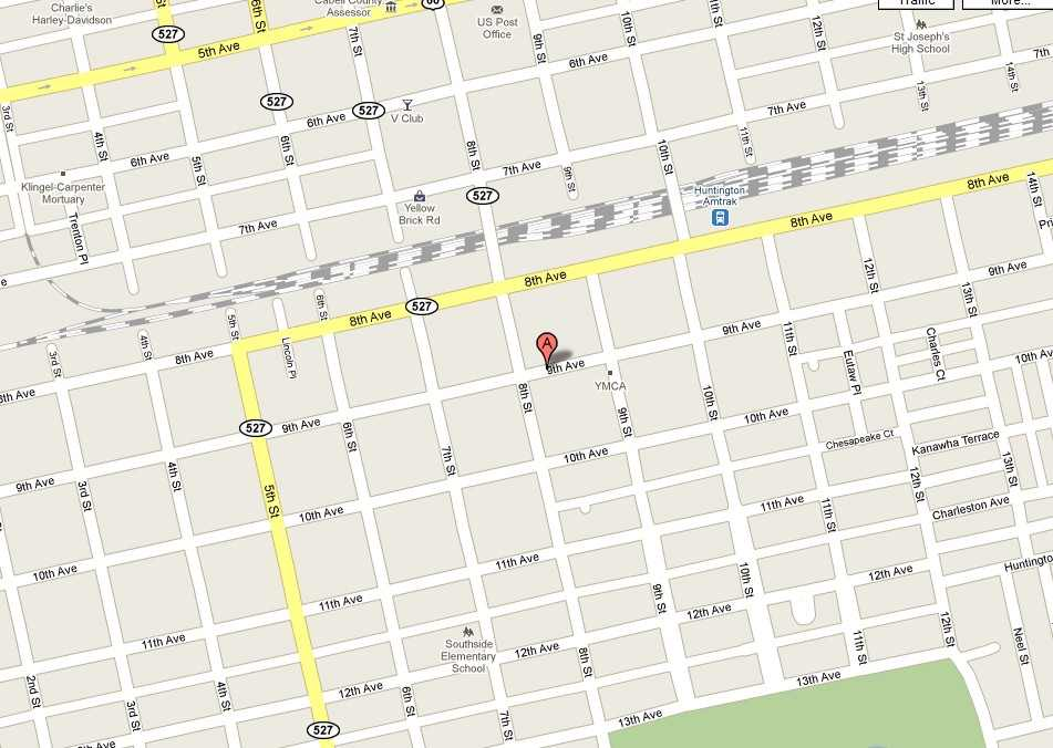 how to add our address on google map
